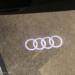 Audi A5 F5 MY2019 カーテシランプ交換